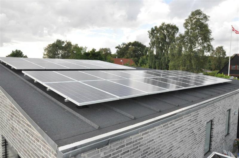 Solcelleanlægget